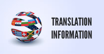 translation information Home page